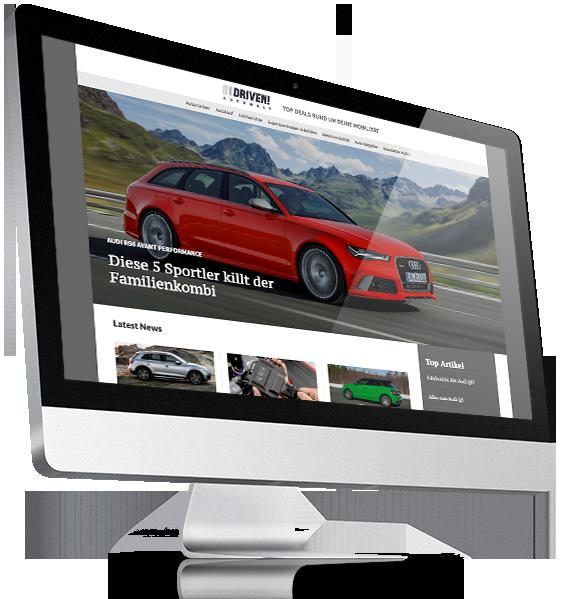 Driven! Autowelt iMac