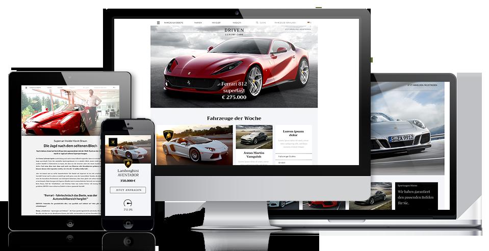 Driven! Autowelt Content Marketing